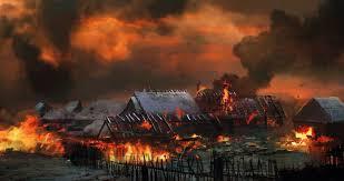Près de trente maisons détruites par les feux de brousse au Nord-Ubangi