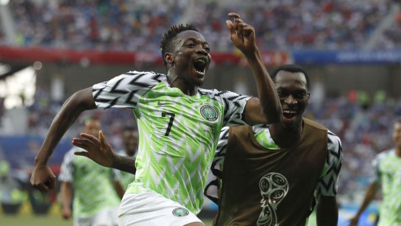 Mondial 2018: le Nigeria bat l'Islande 2-0 et s'installe à la 2 place du Groupe D