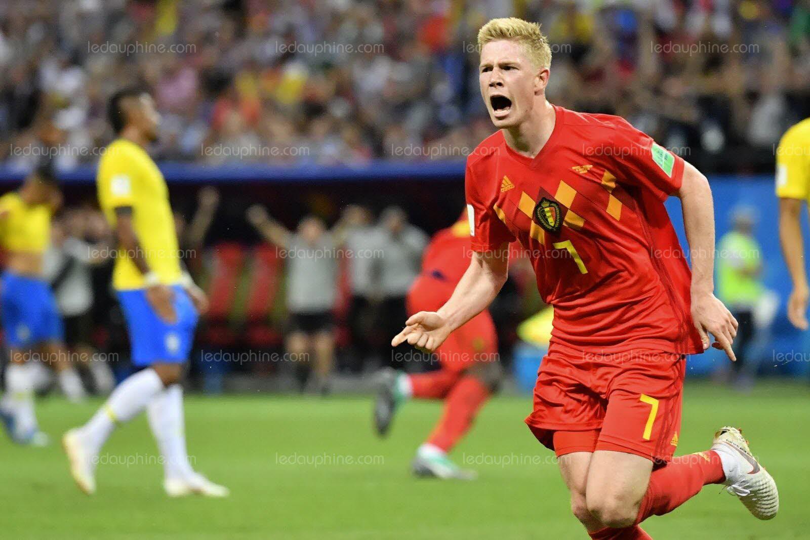 Mondial 2018 : la Belgique élimine le Brésil (2-1) et rejoint la France en demi-finales