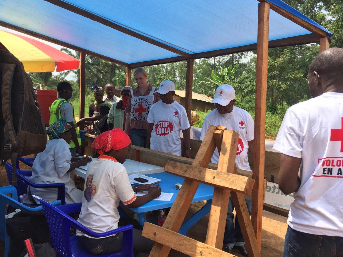 Ebola en RDC, toujours un «défi de taille» selon la Croix-Rouge