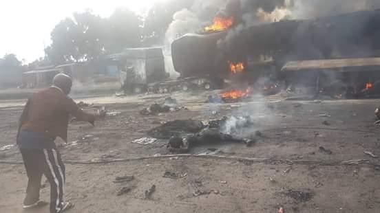 RDC: Au moins 60 morts dans la collision d'un camion-citerne avec un autre véhicule à Kisantu
