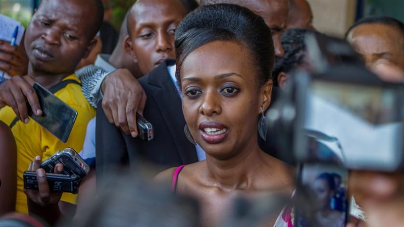 Rwanda: l'opposante Diane Rwigara libéree sous caution