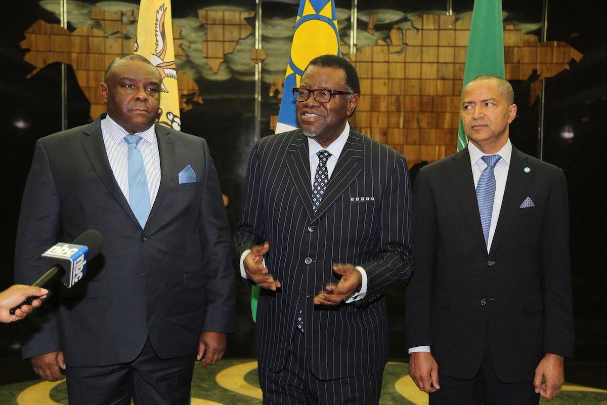 RDC: les opposants Jean-Pierre Bemba et Moïse Katumbi reçus à Windhoek par la SADC