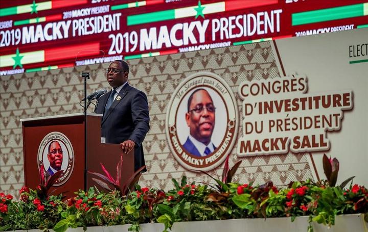 Sénégal: Macky Sall investi par la coalition présidentielle pour un second mandat à l'élection du 24 février