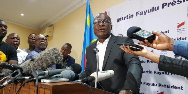 RDC-Présidentielle:Toutes les enquêtes confirment Martin Fayulu grand vainqueur