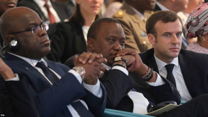 Macron appelle Tshisekedi à «prendre son autonomie» vis-à-vis de Kabila
