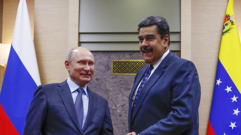 La Russie justifie l'envoi d'une centaine de militaires et 35 tonnes de matériel au Venezuela