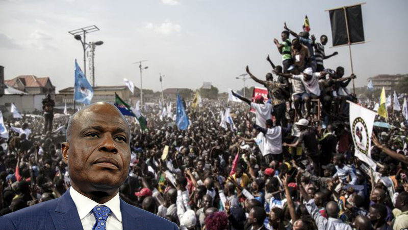 RDC: Martin Fayulu en meeting populaire de restitution ce dimanche 28 avril à Kinshasa
