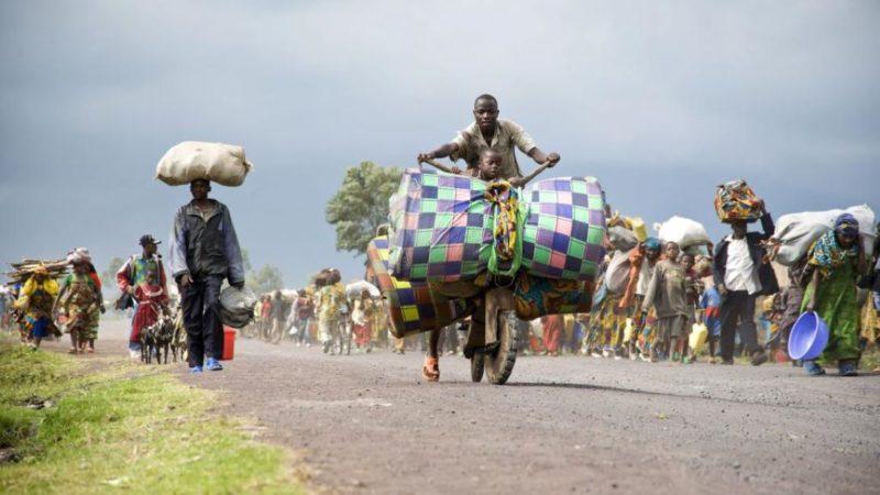 RDC: Des milliers de déplacés fuient des combats dans le Sud-Kivu
