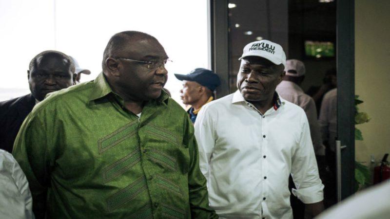 URGENT – RDC: le sénateur Jean Pierre Bemba est arrivé à Kinshasa, accueilli par Martin Fayulu (VIDEO)