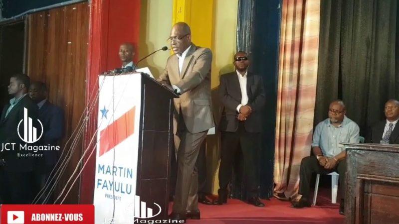 Vérité des urnes et Crise de légitimité en RDC: Martin Fayulu face à l'élite universitaire au Collège Boboto à Kinshasa (VIDEO)