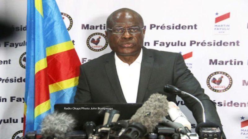 Martin Fayulu réagit à la publication du nouveau gouvernement en RDC: «C'est le gouvernement Kabila qui continue»