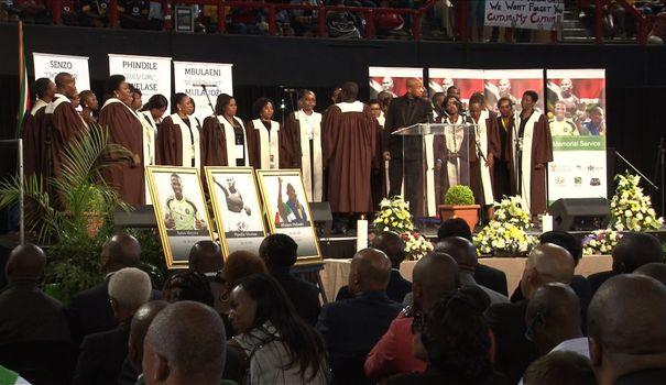 Afrique du sud: hommage au capitaine des «Bafana Bafana» tué par des cambrioleurs