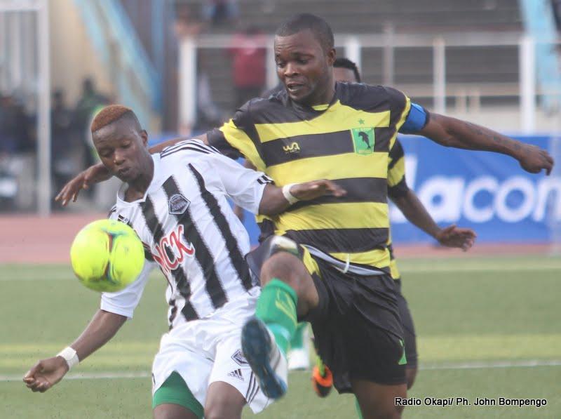 Division I: Mazembe et Vclub battus par Sanga Balende et MK (0-1)