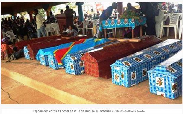 RDC: 8 morts dans un nouveau «carnage» à Beni