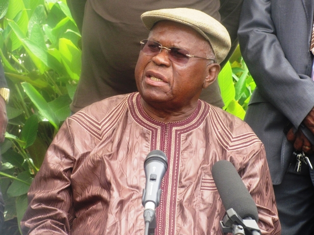 Kinshasa: des policiers déployés autour de la résidence d'Etienne Tshisekedi