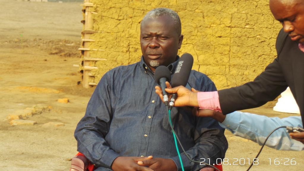 Congo-Brazzaville: le pasteur Ntumi sort de l'ombre: «Je viendrai lancer le désarmement…»