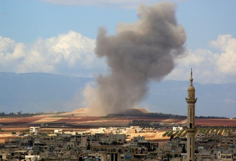 Syrie: le pilonnage d'Idleb a commencé, crainte d'une catastrophe humanitaire
