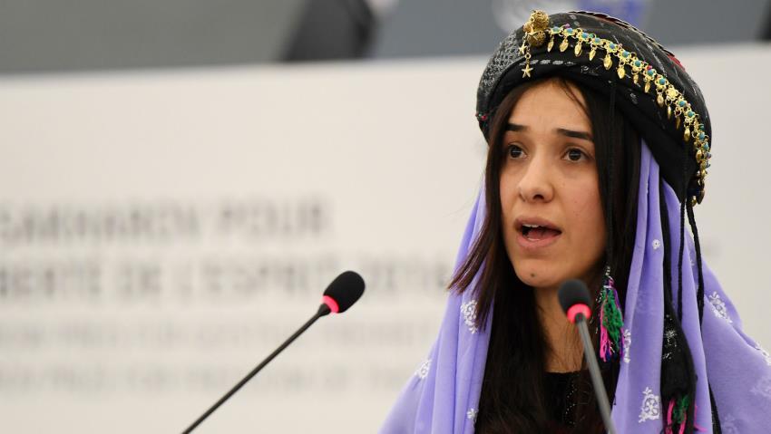 Nadia Murad, d'esclave sexuelle au Nobel de la paix