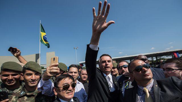Brésil: Jair Bolsonaro, candidat d'extrême droite, élu président
