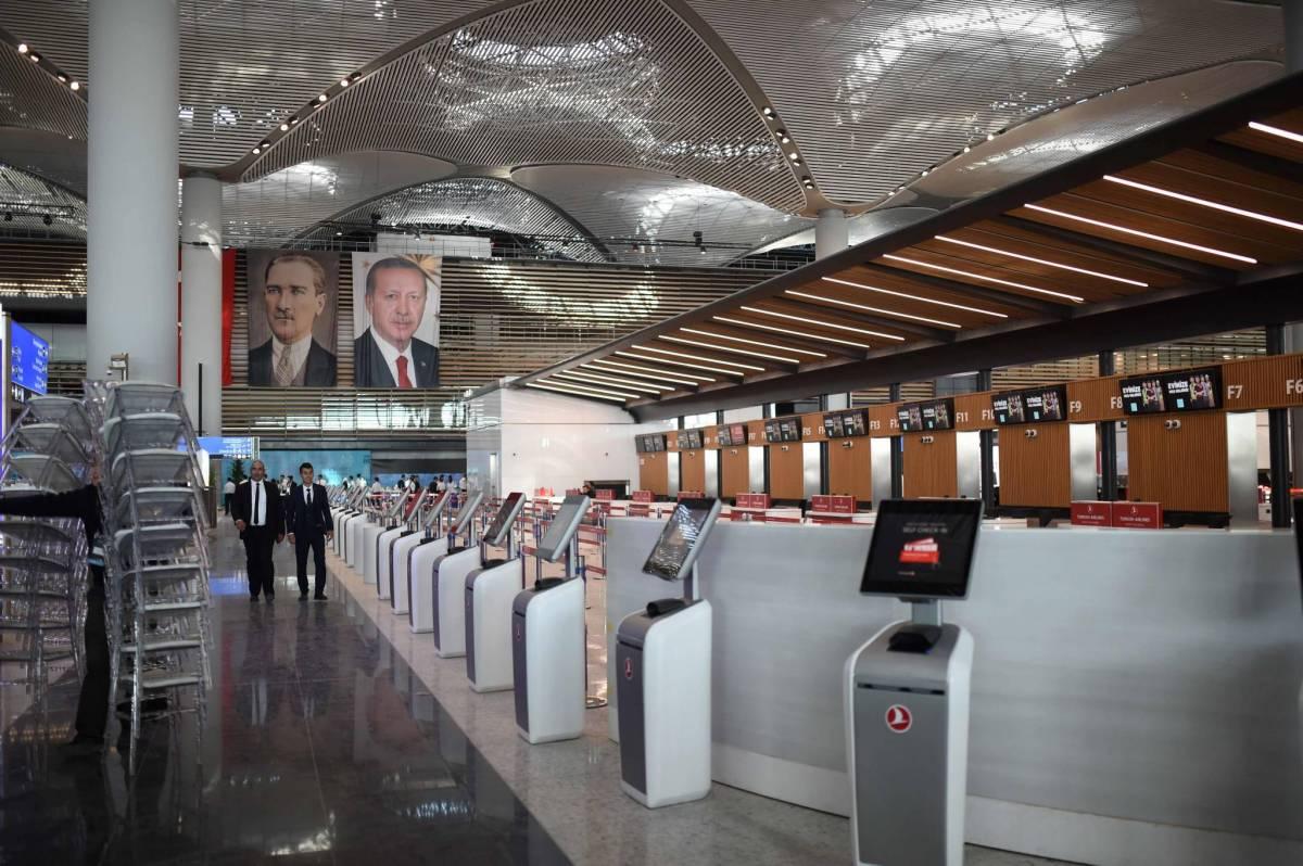 Turquie : Le président Recep Tayyip Erdogan a inauguré le plus grand aéroport du monde à Istanbul