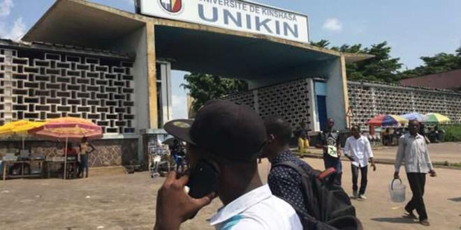 RDC: Nouvelles tensions à l'université de Kinshasa, la police dénonce «des infiltrations»