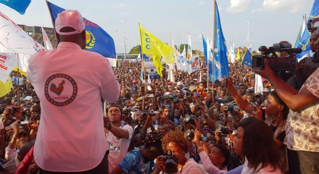 RDC – Election Présidentielle: Martin Fayulu lance sa campagne à Beni dans le Nord-Kivu