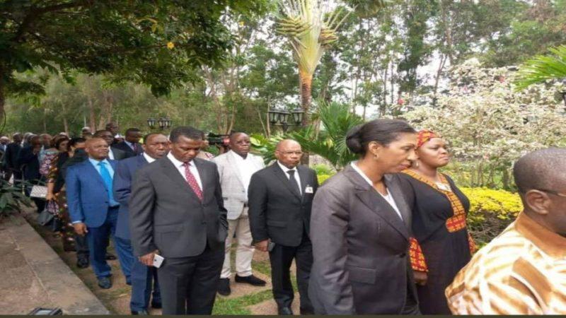 RDC: les sénateurs du FCC reçus à Kingakati pour présenter leur civilité à Joseph Kabila