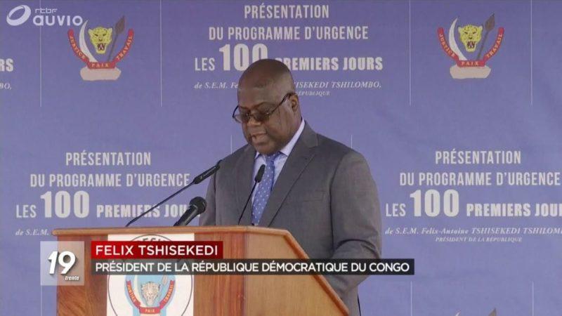 RDC: le programme d'urgence de Félix Tshisekedi bloqué par le manque de moyens et l'opacité dans la gestion