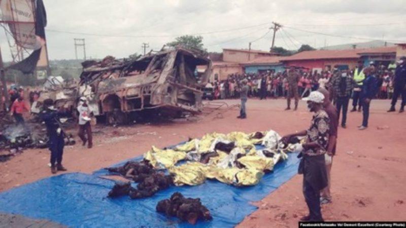 RDC: au moins 30 morts dans un accident de circulation à Mbanza Ngungu