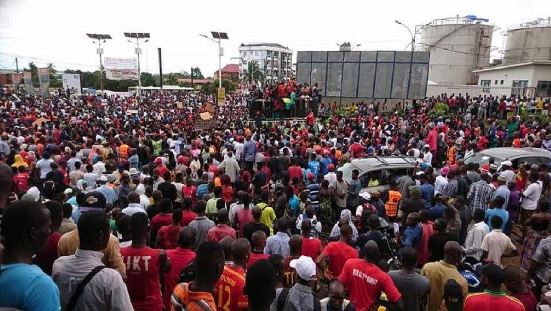 Guinée-Conakry: les manifestations monstres se multiplient contre une «présidence à vie» d'Alpha Condé