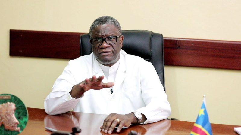 Coronavirus: Pour le Dr Denis Mukwege, « il faut commencer par vacciner la Chine, l'Europe et l'Amérique »
