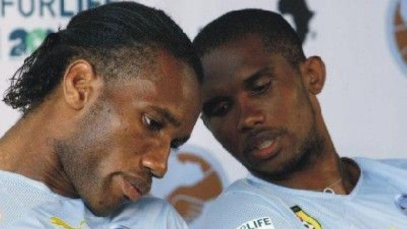 Vaccin COVID-19 en Afrique: les footballeurs Samuel Eto'o et Didier Drogba crient leur colère