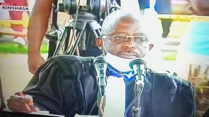 Procès Vital Kamerhe en RDC: le juge président du tribunal, Raphael Yanyi, est décédé subitement