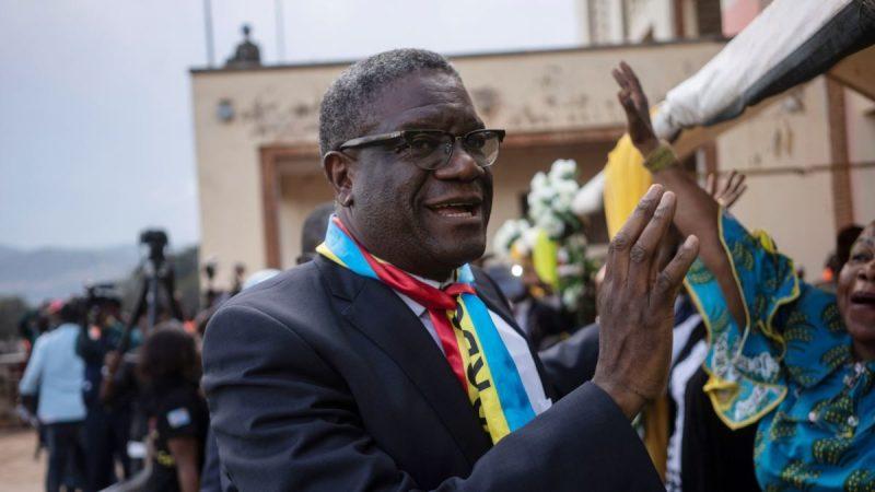 Coronavirus en RDC: le Prix Nobel Dr Denis Mukwege,en charge de la riposte, démissionne