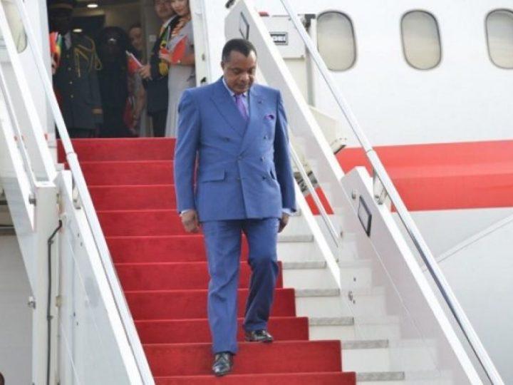 Congo-Brazzaville: Un jet du président Sassou Nguesso en vente aux enchères sur ordre de la justice française