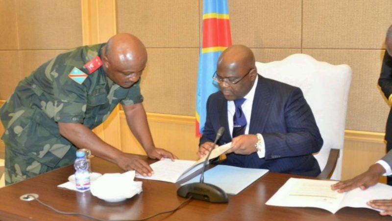 RDC: Félix Tshisekedi remanie l'armée sous pression des États-Unis et l'ombre de Joseph Kabila