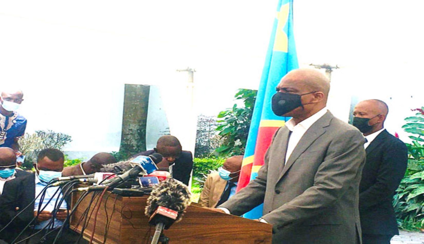 Martin Fayulu à propos de l'Union sacrée: « il n'y a pas rupture entre Félix Tshisekedi et Joseph Kabila »