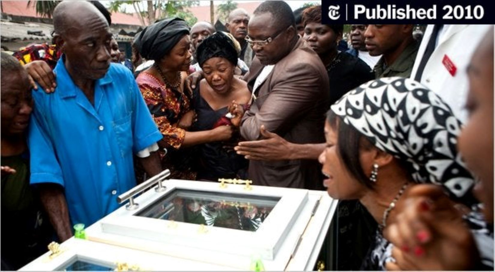 Annie Chebeya, veuve Floribert Chebeya: « Joseph Kabila est le vrai responsable de la mort de mon mari »