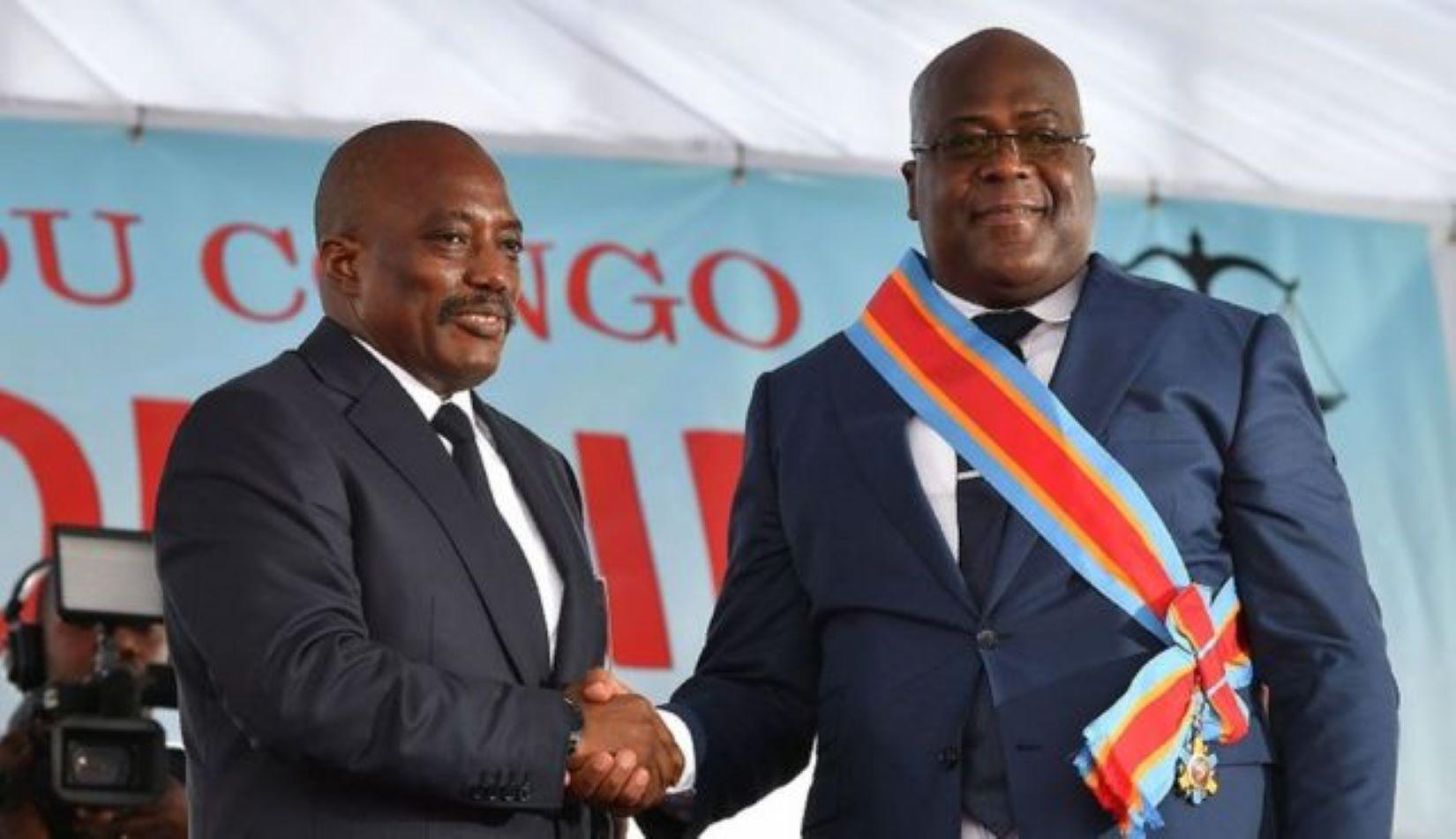 RDC : les trois camouflets de Félix Tshisekedi infligés à Joseph Kabila
